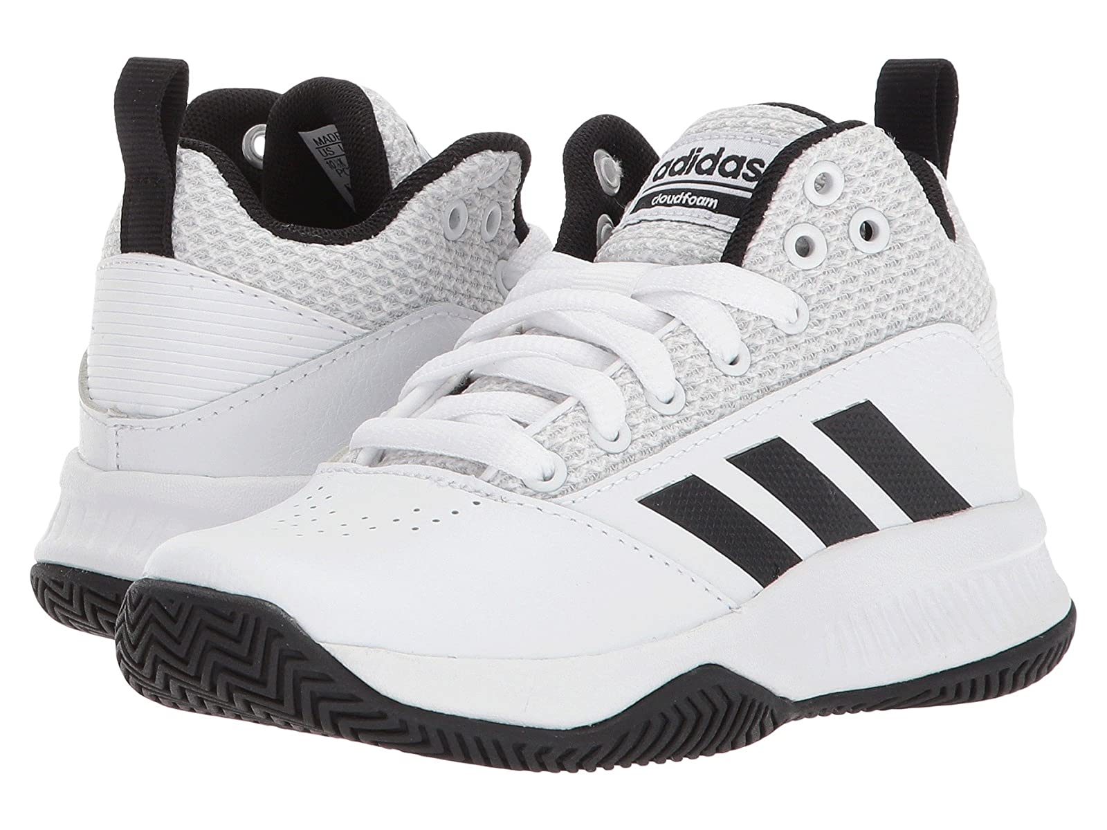 adidas Kids Kid/Big Ilation Mid Basketball (Little Kid/Big Kids Kid) 48fa93