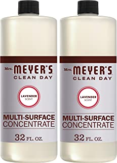 Mrs. Meyer's Clean Day Multi-Surface Concentrate, Lavender bottle, 32 Fl. Oz (Pack of 2)