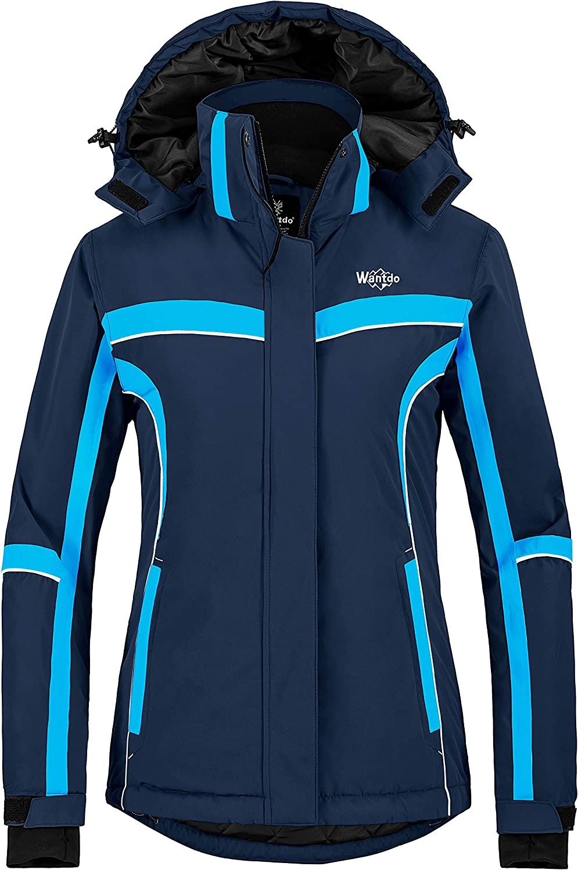 Ranking TOP3 Wantdo Women's Waterproof Ski Jacket Snow Warm Omaha Mall Coat Windp Winter