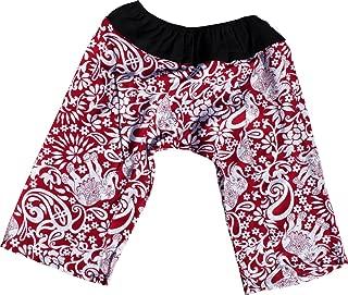 RaanPahMuang Printed Light Summer Rayon Childrens Baggy Elastic Waist Pants