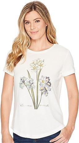 LAUREN Ralph Lauren - Floral Linen-Blend T-Shirt