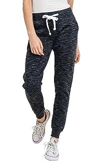 Women's Ultra Soft Fleece Basic Midweight Casual Solid Jogger Pants