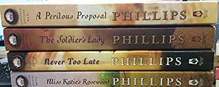 Carolina Cousins set 1-4; A Perilous Proposal; The Soldier's Lady; Never Too Late; Miss Katie's Rosewood