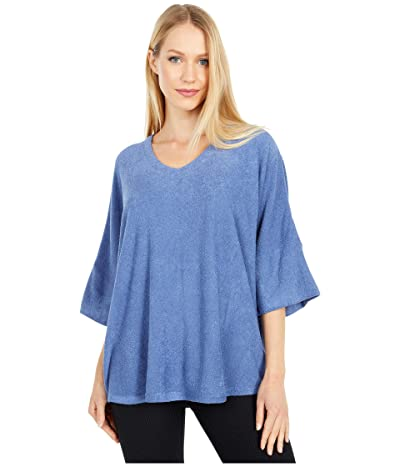 N by Natori Terry Lounge Top (Stormy Blue) Women
