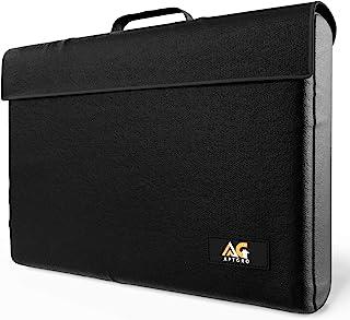 Large Fireproof, Waterproof Money & Important Document Holder Storage Bag, Silicone Coated | Fire Safe Document Box, – APT...