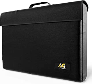 Large Fireproof, Waterproof Money & Important Document Holder Storage Bag, Silicone Coated | Fire Safe Document Box, – APTGRO Fire-Resistant & Fireproof Document Bags | Safe Box Fireproof Waterproof