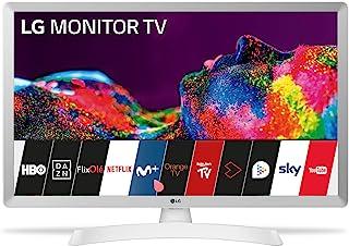 LG 24TN510S- WZ 60 cm (24 inch) Smart TV Monitor LED HD (1366 x 768 16:9 DVB-T2/C/S2 WiFi Miracast 10W 2 x HDMI 1.4 1 x US...