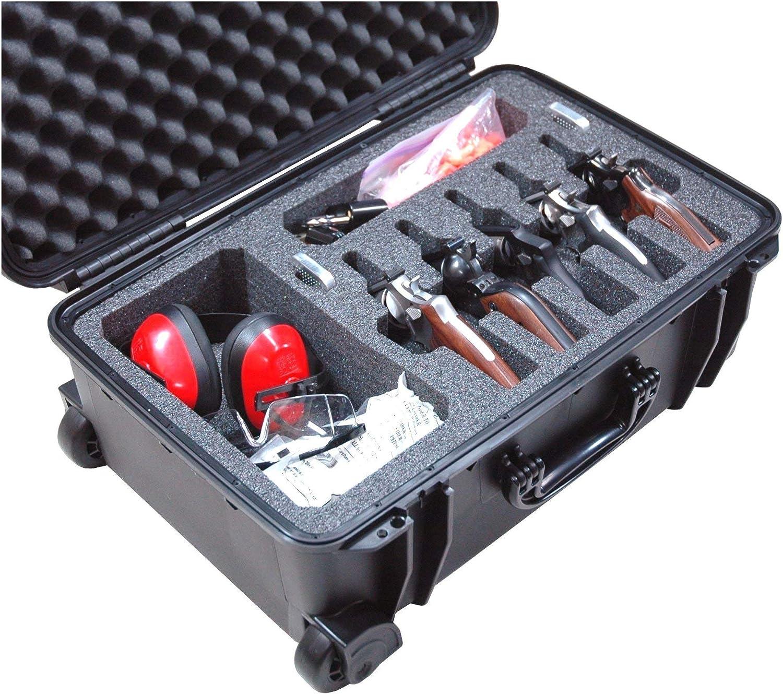 Baltimore Mall Super Special SALE held Case Club 5 Revolver Semi-Auto Pre-Cut Acce with Waterproof