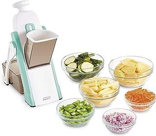 Dash Safe Slice Mandoline Slicer, Julienne + Dicer for Vegetables, Meal Prep & More with 30+ Presets & Thickness Adjuster...