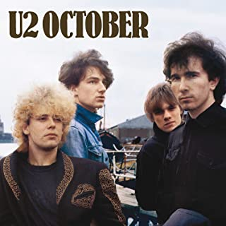 Album Cover Poster Thick U2- October giclee Record 12 x 14 inch Poster sscreation