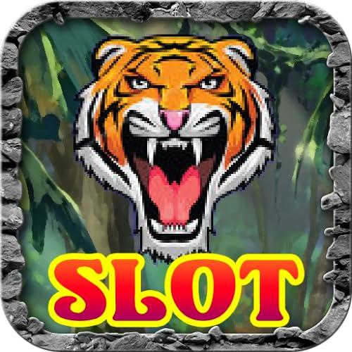 Jungle Tiger Fury Leopard and Jaguar Jackpot Lucky Casino Slot Machine Poker...