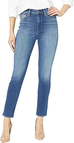 Holly High-Rise Crop Skinny Jeans in Bondi