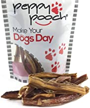 product image for Peppy Pooch Bully Sticks Small 20 Pack. All-Natural American Beef Dog Chews. Made in The USA.