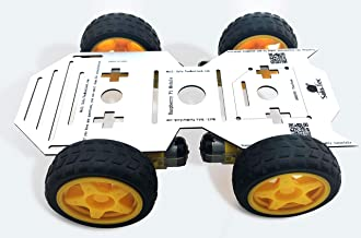 SULO-F1 4WD Robot Chassis kit with 4 TT Motors for Arduino / Raspberry Pi