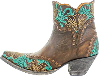 Old Gringo BL3084-1 Erin Short Ankle Boot in Brass
