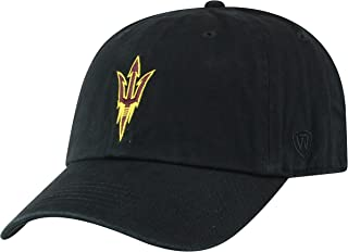 Top of the World NCAA Men's Hat Adjustable Relaxed Fit Black Icon
