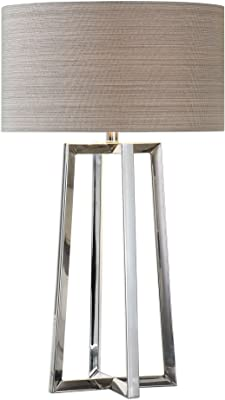 Amazon.com: Table Lamps 1 Light with Gold Finish Metal ...