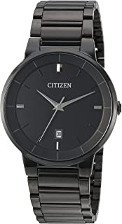Citizen Men's ' Quartz Stainless Steel Casual Watch, Color:Black (Model: BI5017-50E)