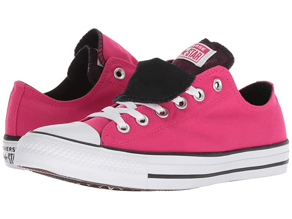 Converse Chuck Taylor All Star Double Tongue Floral Ox (Pink Pop/White/Black) Women
