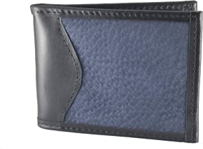 Capybara Carpincho Mens Wallet Exclusive Argentine Leather ID Blue