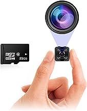 Small Hidden Mini Spy Camera - Secret Tiny Spy Cam for Home or Car with Motion Detection, Night Vision, Video, Micro Security Nanny Cameras and Hidden Cameras, Camaras Espias, No Wireless WiFi Needed