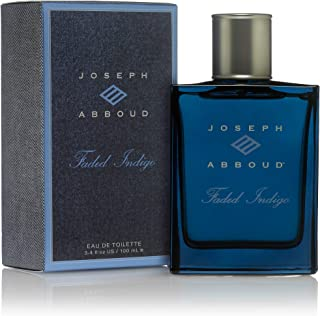 Joseph Abboud Faded Indigo Eau de Toilette For Men, 3.4oz 100ml