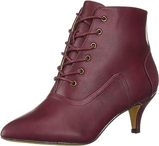 Michael Antonio Women's Alexi Ankle Boot, cranberry, 6 M US