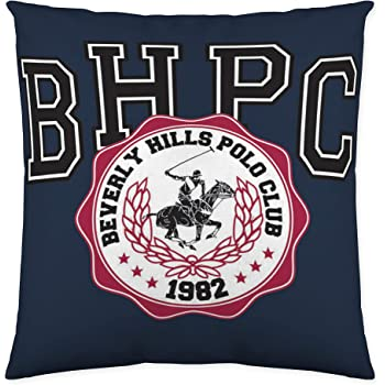 Beverly Hills Polo Club Nolan Funda de cojín, Algodón, Blanco, Sin Relleno: Amazon.es: Hogar