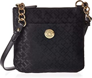Tommy Hilfiger Crossbody Bag for Women - Canvas, Black