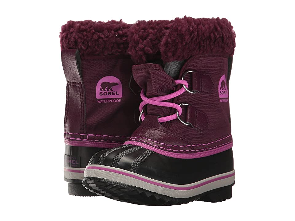 SOREL Kids Yoot Pac Nylon (Toddler/Little Kid) (Purple Dahlia) Girls Shoes