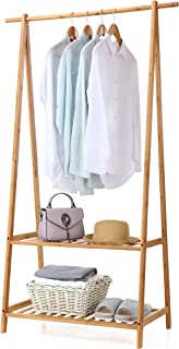 a frame clothing rack