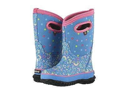 Bogs Kids Classic Rainbow (Toddler/Little Kid/Big Kid) (Light Blue Multi) Girls Shoes
