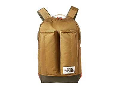The North Face Crevasse (British Khaki/New Taupe Green) Backpack Bags