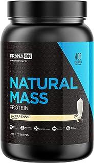 PranaOn Natural Mass - Vanilla Shake 1.2kg, Vanilla Shake 1.3 kilograms