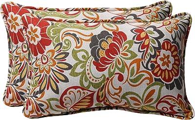 Set of 2 Pillow Perfect Outdoor//Indoor Avia Fiesta Throw Pillow 18.5