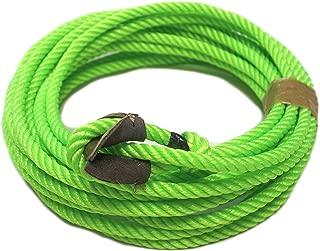39 Ft. Lime Green Charro SOGA Reata Florear Western Nylon Trick Rope