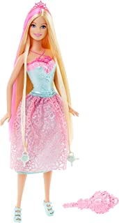 Barbie Long Hair Princess Asst, One Size Pink