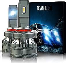 BEAMTECH 9005 LED Bulbs, HB3 G-XP Chips 110W 14000LM 6500K High Power Xenon WhiteConversion Kits 360 Degree Lighting Plug...