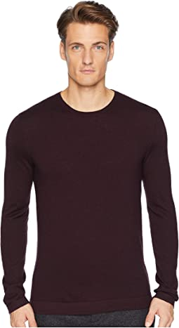 Long Sleeve Crew Neck with Contrast Y2096U3