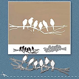 Moares Dies De Decoupe Scrapbooking,Scrapbooking Dies,Six Oiseaux m¨¦tal Coupe Die Bricolage Artisanat Scrapbook gaufrage ...
