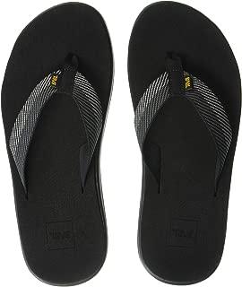 Teva Men's VOYA FLIP Men's Sandals, VORI Black Gray