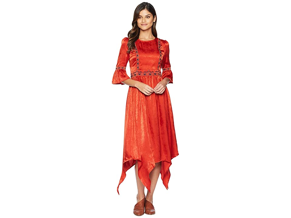 MOON RIVER Woven Dress (Geranium) Women