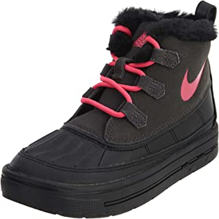 Nike Little Kids Boots Woodside Chukka 2 Anthracite/Black/Hyper Pink 859426-001