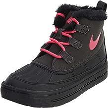Nike Little Kids Boots Woodside Chukka 2 Anthracite/Black/Hyper Pink 859426-001