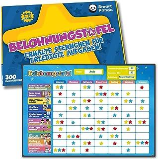Tablica nagradzana dla dzieci – idealna dla małych dzieci, do nauki odpowiedzialności i treningu czystości, zawiera 80+ za...