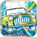 Livre de coloriage de voitures