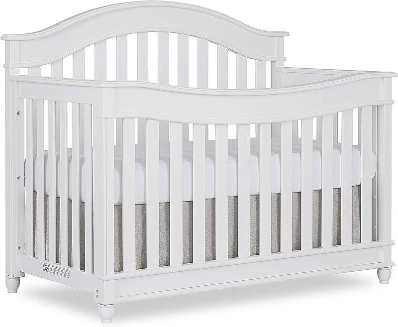 Evolur Hampton Parkland 5 In 1 Lifestyle Convertible Crib