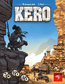 Hurrican Kero Board Game | Apocalyptic Survival Game | Strategy Game for Adults and Kids | Ages 8 and up | 2 Players | Ave...