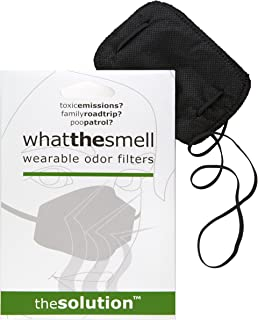 What the Smell: Wearable Odor Filter (1 Carbon Unit) - Great Gag Gift, April Fool's