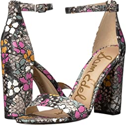 Bright Multi Retro Floral Snake Print